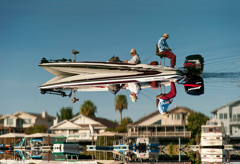 Up or Down?? Fishing in Discovery Bay Photos by Bill Klipp