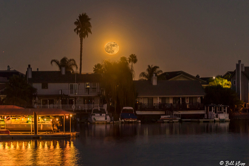 Super Moon, Discovery Bay, Dec 2017, Photos by Bill Klipp