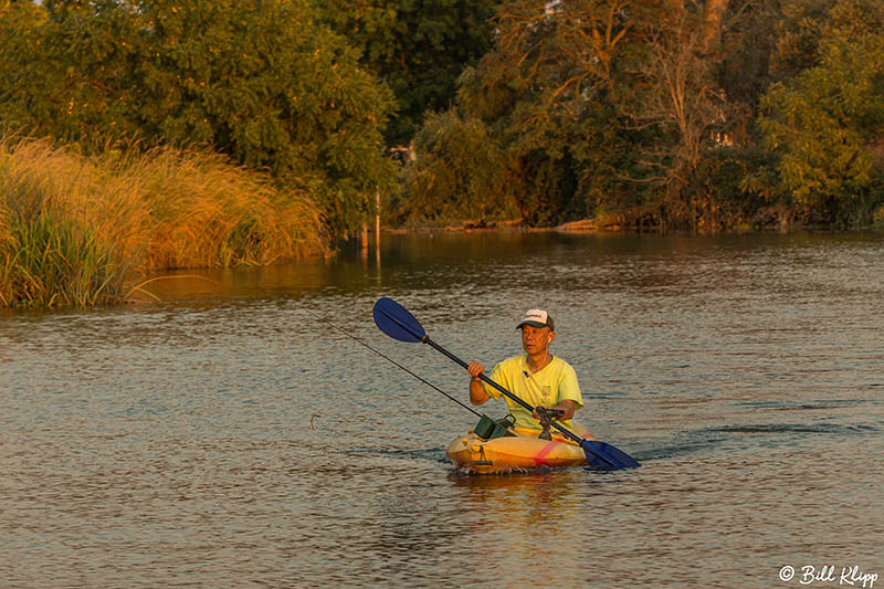 Kayak Fishing, Discovery Bay Photos by Bill Klipp