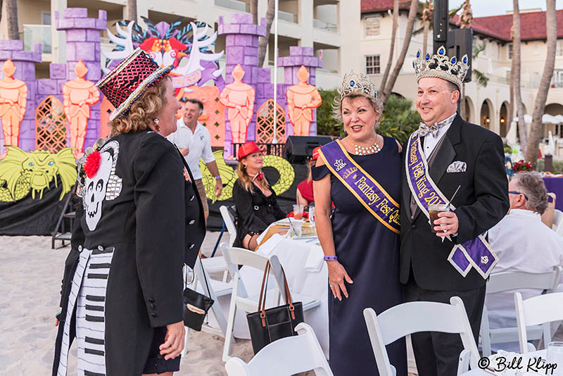 "Royal Coronation Ball, Fantasy Fest 2017, ""Time Travel Unravels"""