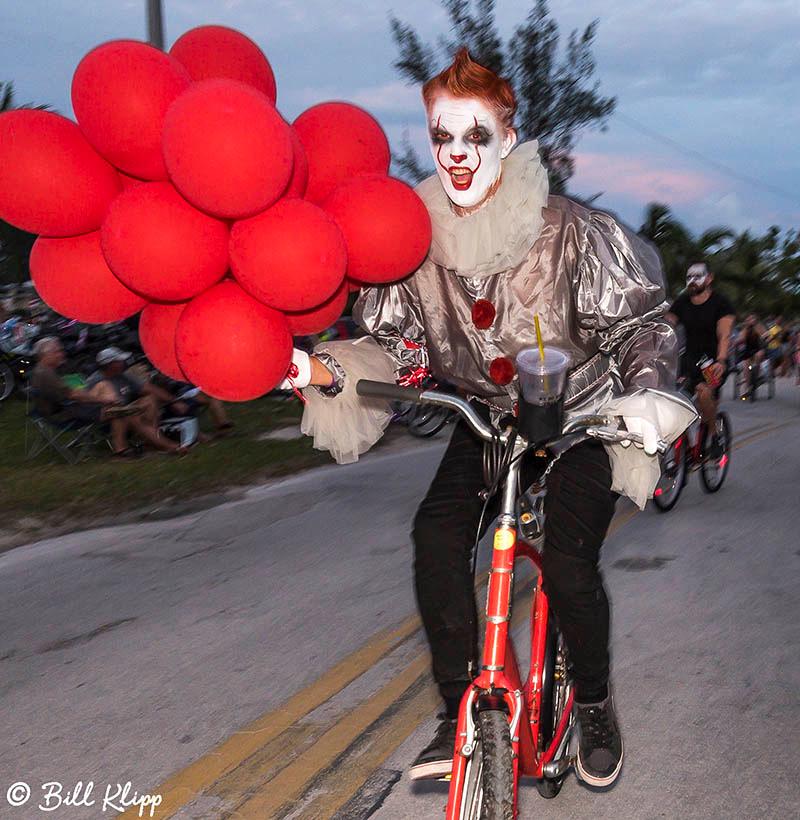"Zombie Bike Ride, Fantasy Fest 2017, ""Time Travel Unravels"",  Ke"