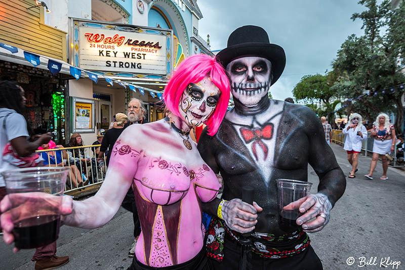 "Fantasy Fest Parade, Fantasy Fest 2017, ""Time Travel Unravels"", Key West Photos by Bill Klipp"