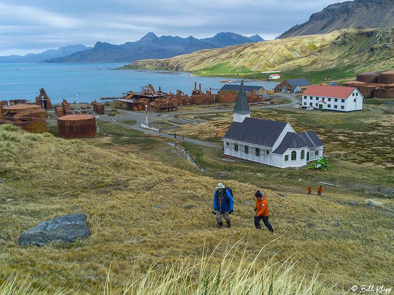 Grytviken, South Georgia Island Nov 2017, Photos by Bill Klipp