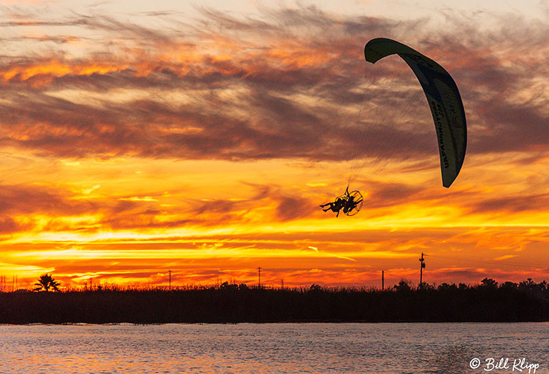 Sunset Paramotor, Discovery Bay, Photos by Bill Klipp