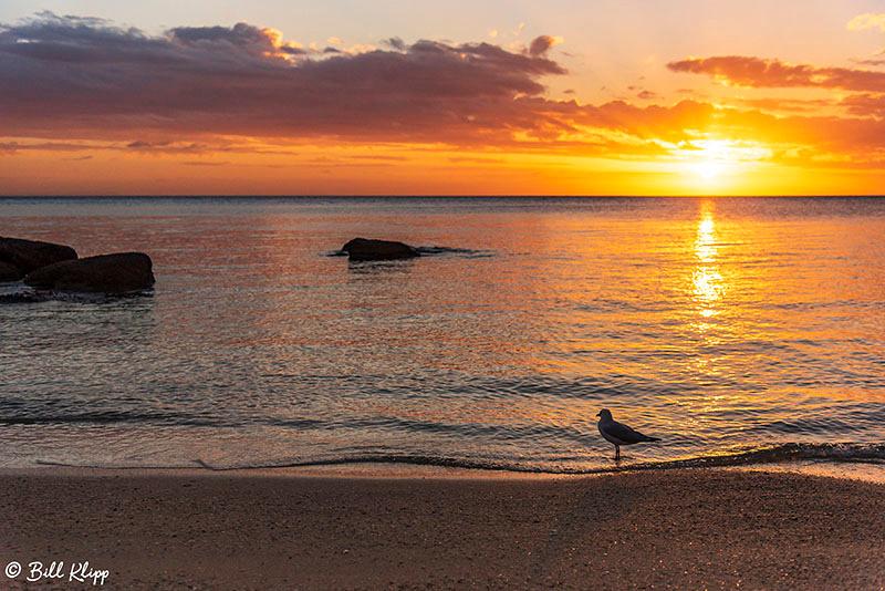 Sunset, Lizard Island, Great Barrier Reef, Aerial, Australia, Photos by Bill Klipp