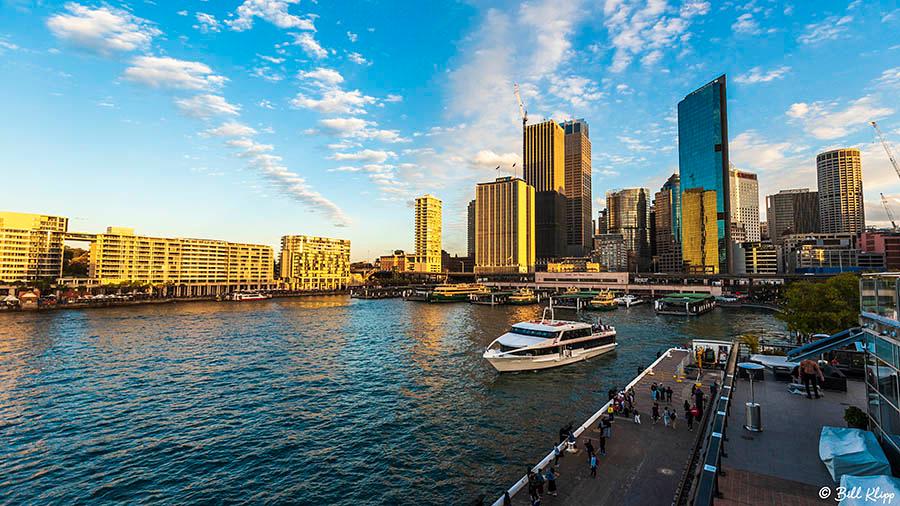 Sydney Harbor Time Lapse, Australia, Photos by Bill Klipp