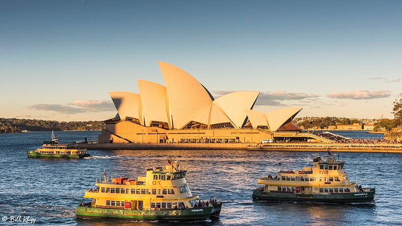 Sydney Harbor, Australia, Time Lapse 2b Photos by Bill Klipp