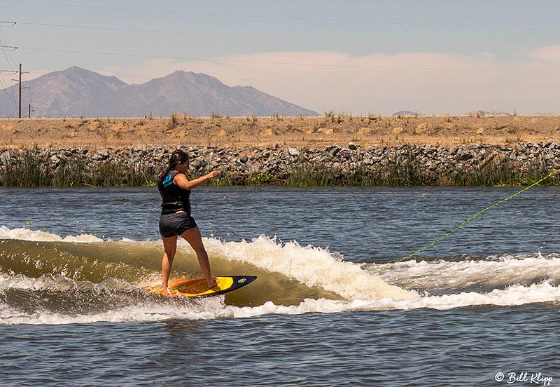 Wake Surfing, Delta Wanderings, Discovery Bay Photos by Bill Klipp