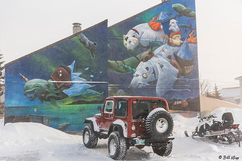 Mural Sea Walls Project Churchill, Canada Photos by Bill Klipp