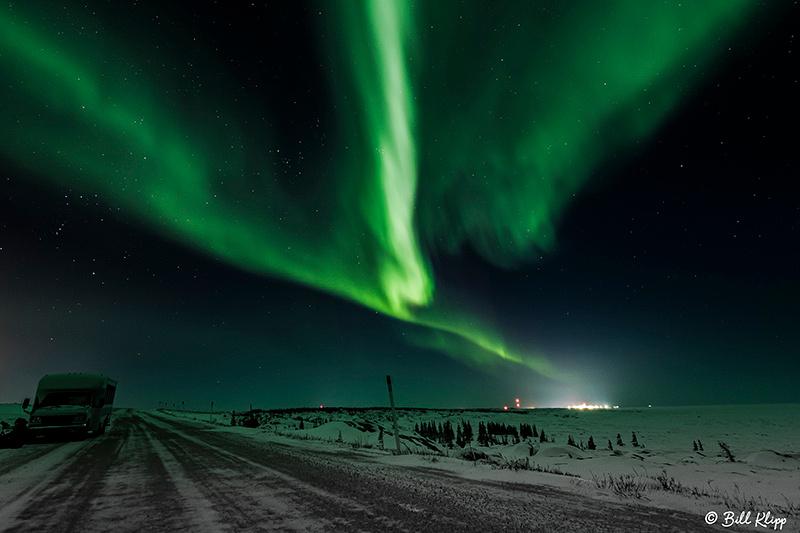 Aurora Borealis, Northern Lights, Churchill, Canada Photos by Bill Klipp