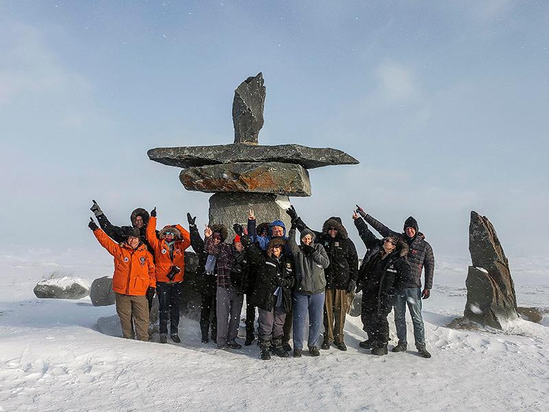 Inukshuk, Churchill Canada Photos by Bill Klipp
