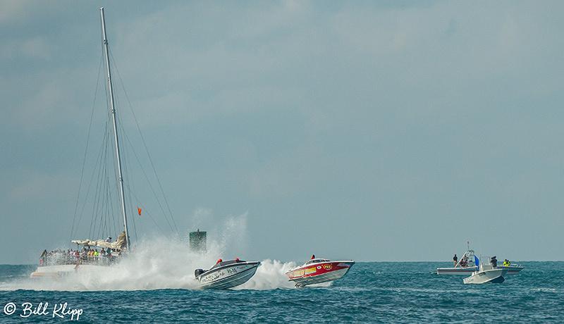 Key West World Championship Power Boat races photos by Bill Klipp. Sunday final races