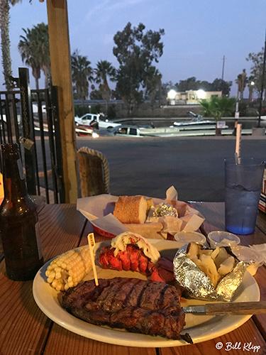 Orwood resort Steak & lobster Photos by Bill Klipp