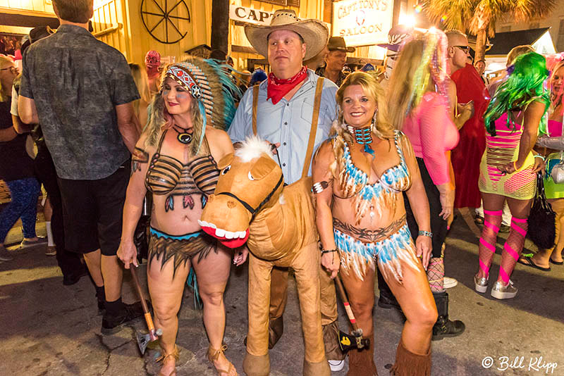 "35th Annual Headdress Ball, Fantasy Fest 2017, ""Time Travel Unravels"",  Key West Photos by Bill Klipp"