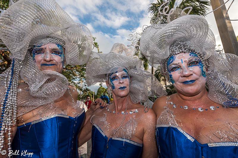 "Masquerade March, Fantasy Fest 2017, ""Time Travel Unravels"",  Ke"
