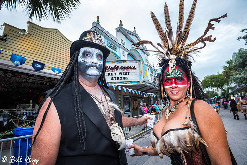 "Fantasy Fest Parade, Fantasy Fest 2017, ""Time Travel Unravels"", Key West Photos by Bill Klipp"